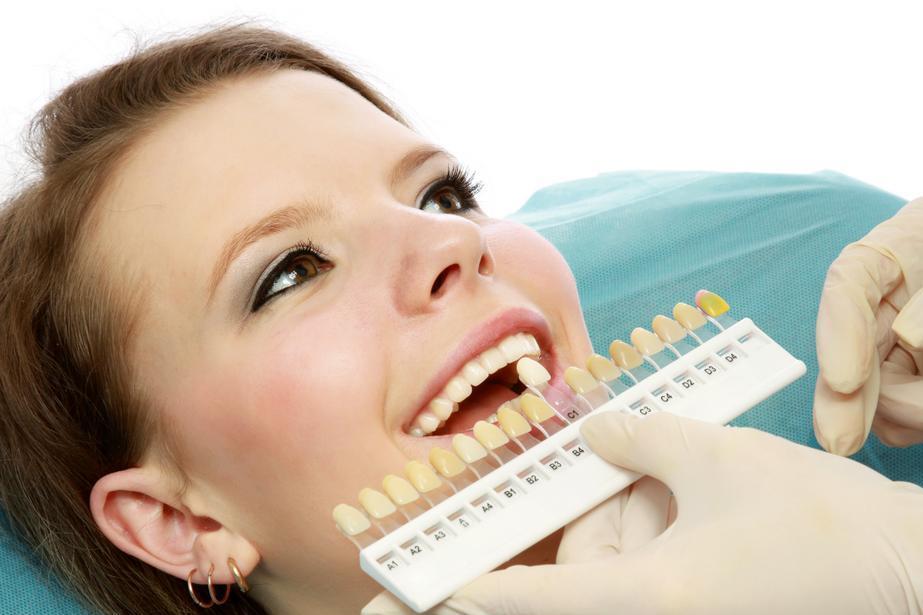 Thước kiểm tra độ trắng của răng